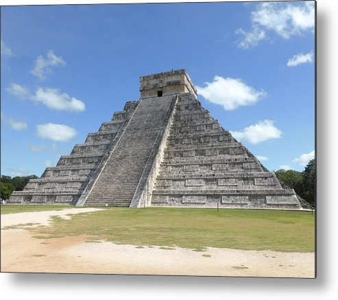 Mexico Metal Print featuring the photograph Chichen Itza by Pamela Campbell