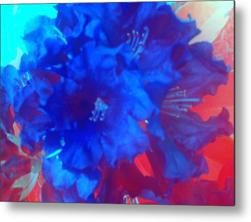 Flowers Metal Print featuring the photograph Christine's Bouquet by Tiffany Vest