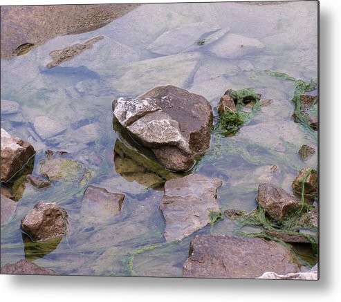 Water Metal Print featuring the photograph Clear Waters by Vijay Sharon Govender