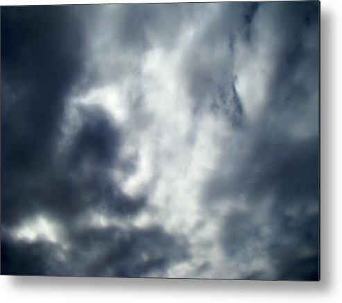 Skyscape Metal Print featuring the photograph Clouds Seven by Ana Villaronga