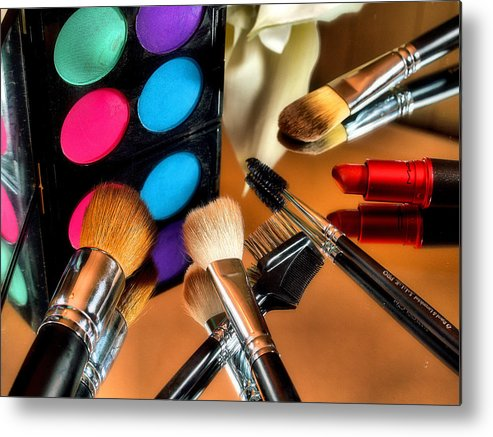Beauty Metal Print featuring the photograph Color Me Beautiful by Jimmy Ostgard