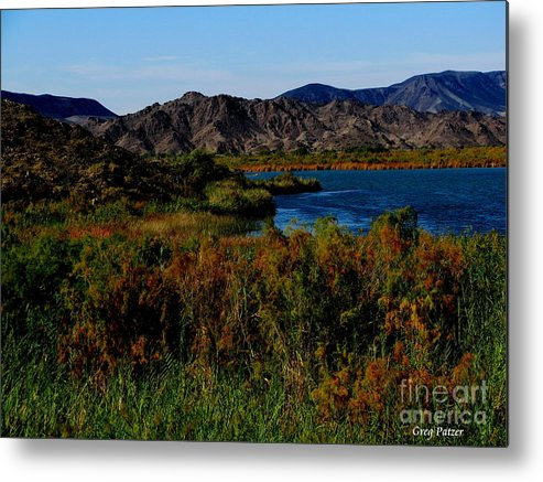 Patzer Metal Print featuring the photograph Colorado River by Greg Patzer