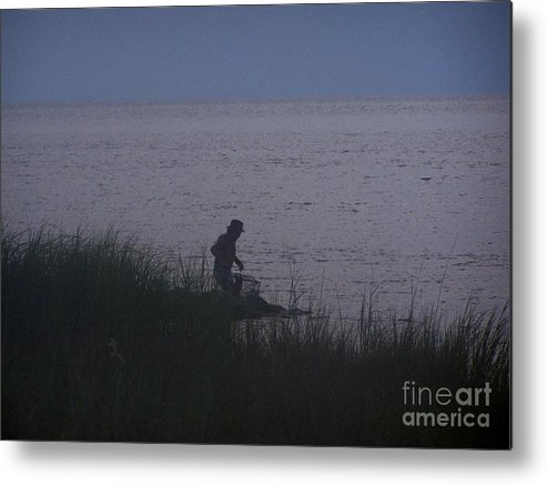 Crabbin Metal Print featuring the photograph Crabbin by Randy Edwards