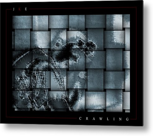 Crawling Metal Print featuring the photograph Crawling by Jonathan Ellis Keys