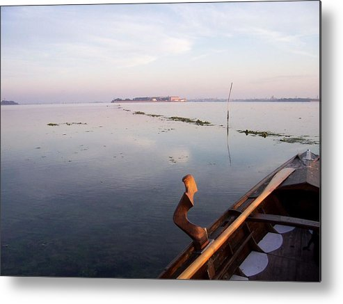 Venice Metal Print featuring the photograph Dawn On Lagoon by Erla Zwingle