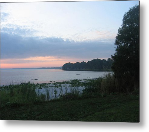 Sunrise-sunset Photographs Metal Print featuring the photograph Dawn Over West Cove by Frederic Kohli