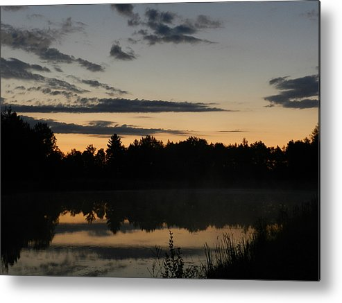 Sunrise Metal Print featuring the photograph Daybreak In Gold by Dennis Leatherman
