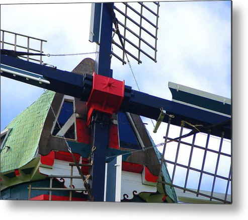 Dezwaan Metal Print featuring the photograph Dezwaan Windmill Holland Michigan by Michelle Calkins