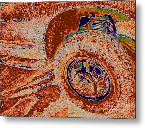 Dirt Metal Print featuring the photograph Dirtroad Joyride by Chuck Taylor