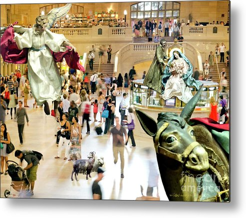 Christmas Metal Print featuring the digital art Do You See? by Ken and Lois Wilder