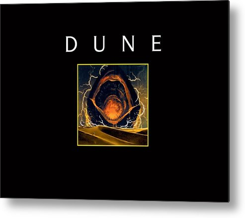 Dune Metal Print featuring the digital art Dune by Mery Moon