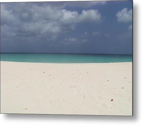 Aruba Metal Print featuring the photograph Eagle Beach Aruba by Donna Davis