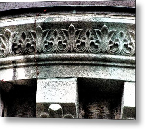 Architecture Embellishments Metal Print featuring the photograph Embellishment Series by Ginger Geftakys