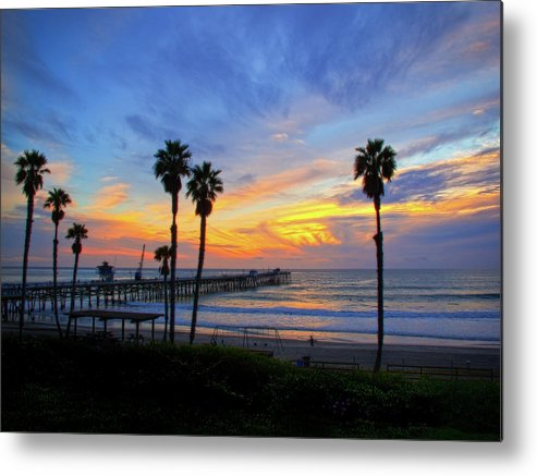 Pacific Ocean Metal Print featuring the photograph Evening Light by Carl Jackson