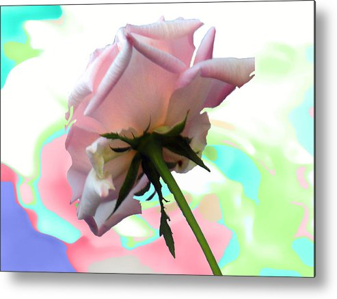 Are Metal Print featuring the painting Fantasy Pastel by Kim
