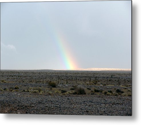 Nevada Metal Print featuring the photograph Following The Rain by Kevin Callahan