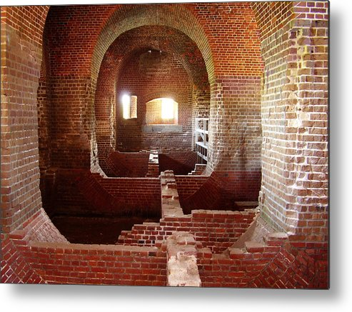 Fort Pulaski Metal Print featuring the photograph Fort Pulaski I by Flavia Westerwelle