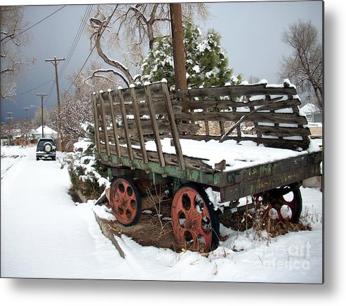 History Metal Print featuring the photograph From A Time Gone By by Jack Norton