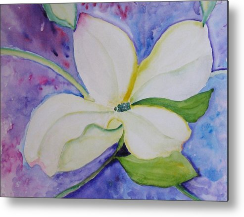 Metal Print featuring the painting Genuine by Trilby Cole