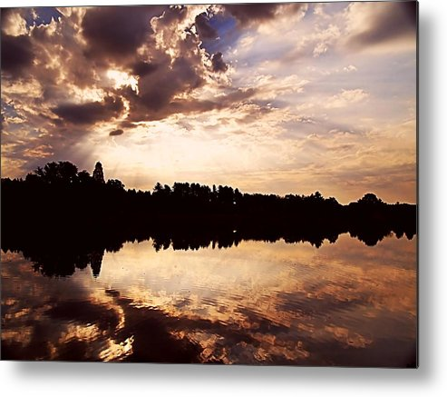 Sunrise Metal Print featuring the photograph Glorious Moments by Gaby Swanson