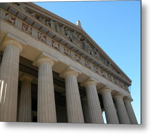 Nashville Metal Print featuring the photograph Going Greek by Michael Morrison