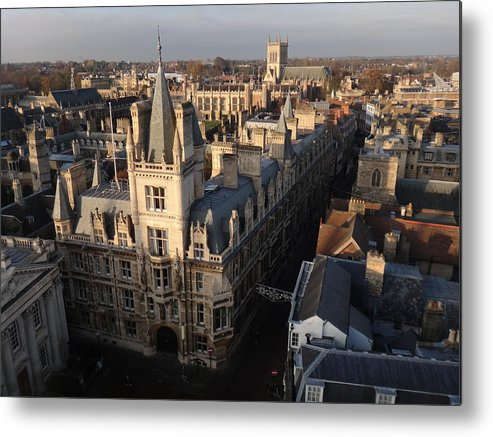 Gonville And Caius College Metal Print featuring the photograph Gonville And Caius College by Two Small Potatoes