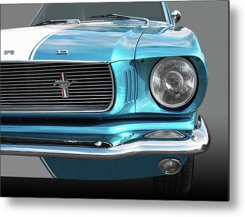 Ford Mustang Metal Print featuring the photograph Good Vibrations by Gill Billington