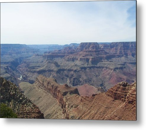 Grand Canyon South Rim Metal Print featuring the photograph Grand Canyon 10 by Erin Rosenblum