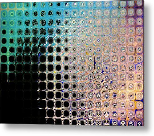 Abstract Metal Print featuring the print Harmony by Lorenzo Roberts