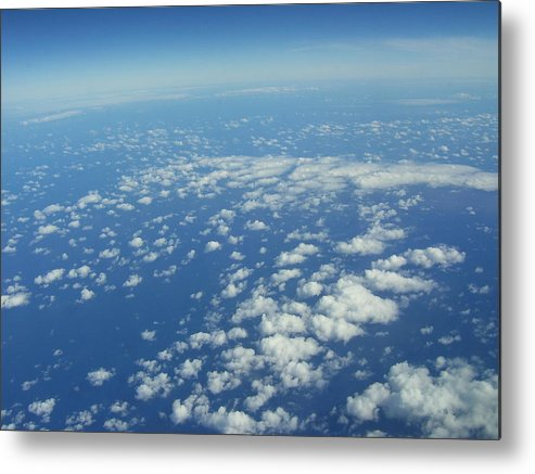 Clouds Metal Print featuring the photograph Hawai'i Clouds by Kristen Hurley