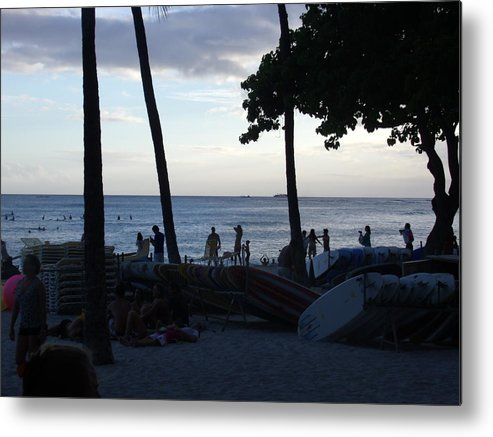 Hawaii Metal Print featuring the photograph Hawaiian Afternoon by Daniel Sauceda
