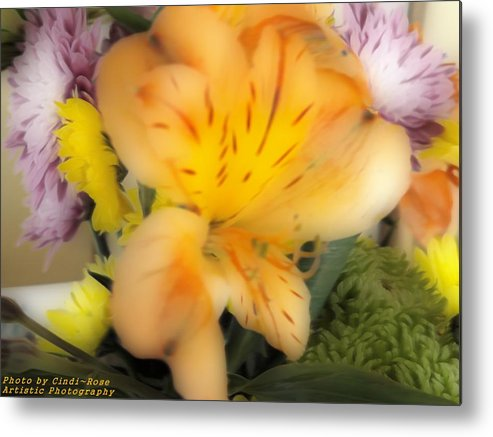 Flowers Metal Print featuring the photograph Hope by Cindi Soutter