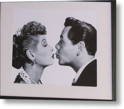 The World's Favorite Red Head Metal Print featuring the photograph I Love Lucy by Shawn Hughes