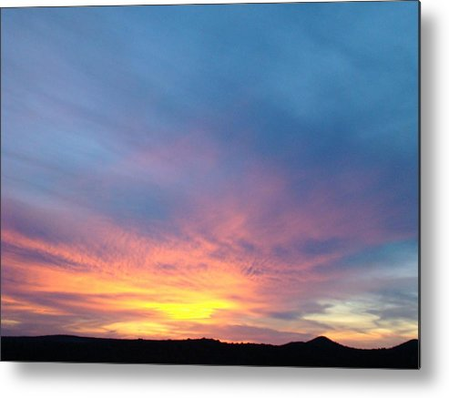 Sunset Metal Print featuring the photograph Ice Cream Sunset by Ana Villaronga