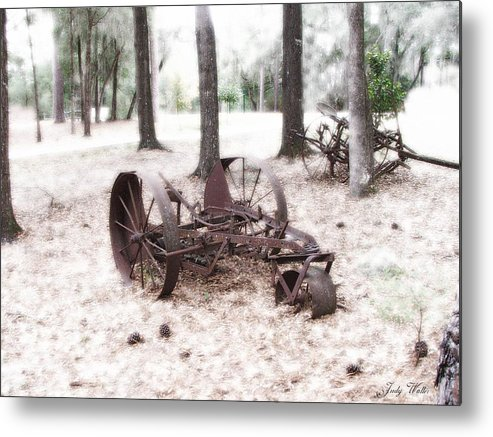 Old Metal Print featuring the photograph In Years Past by Judy Waller