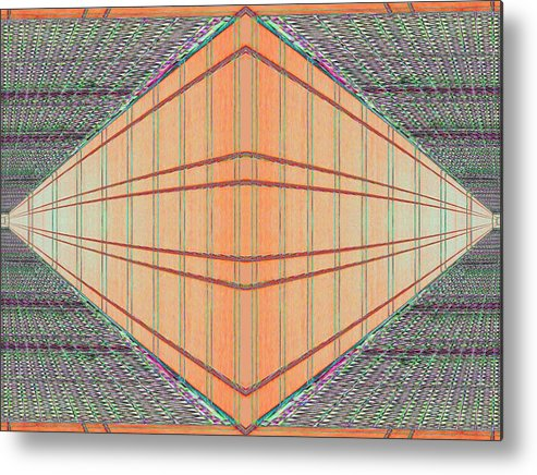 Architecture Metal Print featuring the photograph Intersect by Tim Allen