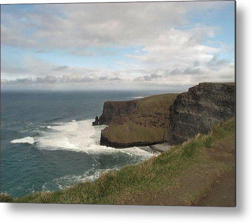 Travel Metal Print featuring the photograph Irish Coast by William Thomas