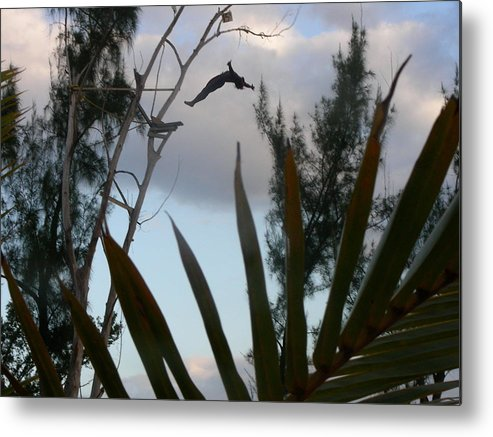 Diver Metal Print featuring the photograph Jamaica Dive by Peter McIntosh