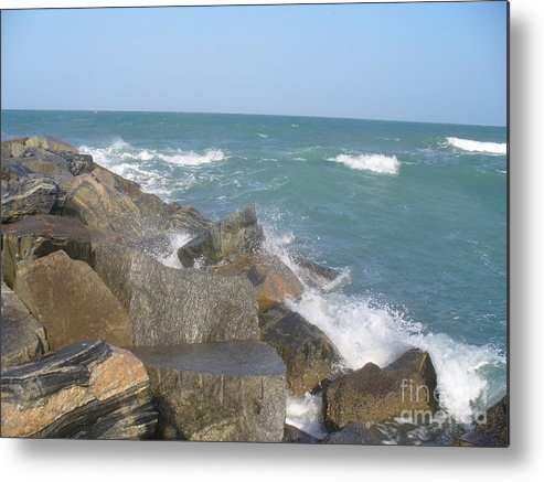 Jetty Metal Print featuring the photograph Jetty by Stephanie Richards