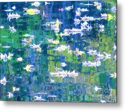 Water Art Metal Print featuring the photograph Joyful Sound by Sybil Staples