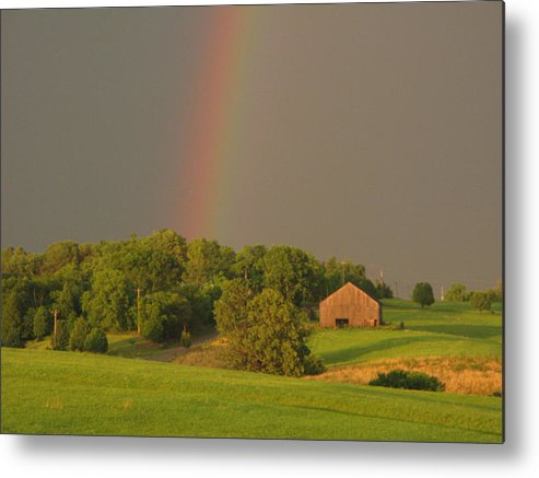 Landscape Metal Print featuring the photograph Judys Hope by Martie DAndrea