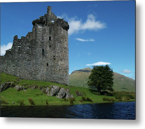 Castle Metal Print featuring the photograph Kilchurn Castle by Steve Watson
