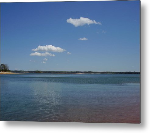 Lake Hartwell Metal Print featuring the photograph Lake Hartwell by Flavia Westerwelle