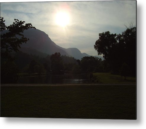 Lake Lure Metal Print featuring the photograph Lake Lure by Flavia Westerwelle
