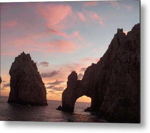 Lands End Metal Print featuring the photograph Lands End by Janet Hall