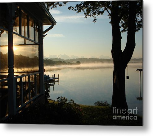 Breton Bay Metal Print featuring the photograph Lazy Morning On The Bay by PJ Cloud