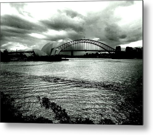 Smallfox Metal Print featuring the photograph Light Over The Harbour by Paul Todd