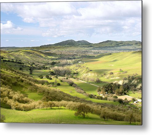 Landscape Metal Print featuring the photograph Livermore Valley by Karen W Meyer