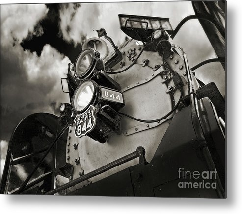 Trains Metal Print featuring the photograph Living Legend 844 by John Anderson