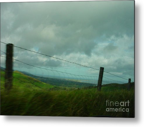 Tralee Bay Metal Print featuring the photograph Looking For Tralee by PJ Cloud
